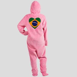 Brazil Footed Pajamas