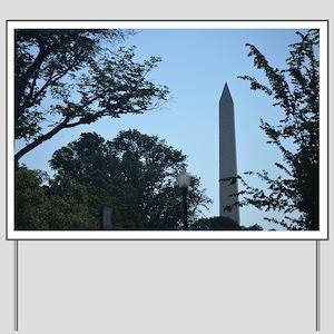 Washington Monument Yard Sign