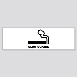 Slow Suicide Bumper Sticker