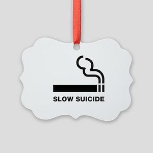 Slow Suicide Picture Ornament