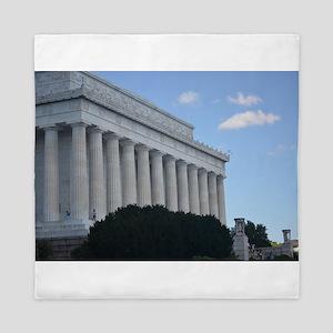 Lincoln Memorial Queen Duvet