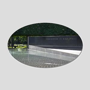 Freedom is not Free - Korean War Memorial Wall Dec