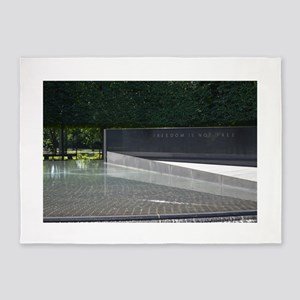 Freedom is not Free - Korean War Memorial 5'x7'Are