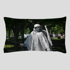 Radio Man - Korean War Memorial Pillow Case
