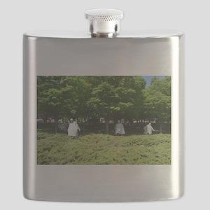 Korean War Memorial Soldiers Flask