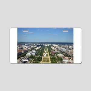 Capitol from top of Washington Monument Aluminum L