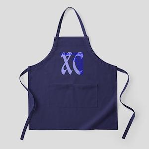 Cross Country XC blue Apron (dark)