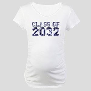 Class of 2032 Maternity T-Shirt