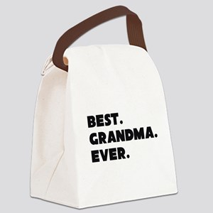 Best Grandma Ever Canvas Lunch Bag