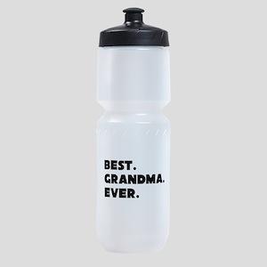 Best Grandma Ever Sports Bottle