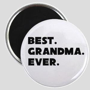 Best Grandma Ever Magnets