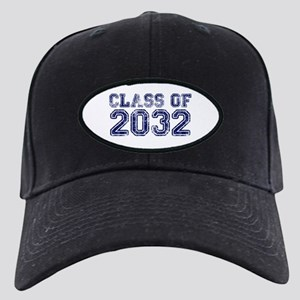 Class of 2032 Black Cap with Patch
