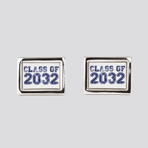 Class of 2032 Rectangular Cufflinks