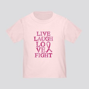 Live Love Fight Toddler T-Shirt
