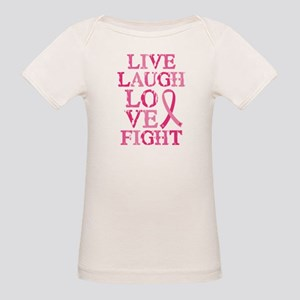 Live Love Fight Organic Baby T-Shirt