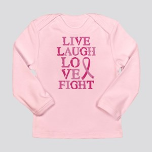 Live Love Fight Long Sleeve Infant T-Shirt