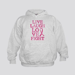 Live Love Fight Kids Hoodie
