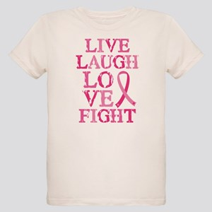 Live Love Fight Organic Kids T-Shirt