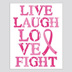Live Love Fight Small Poster