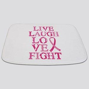 Live Love Fight Bathmat