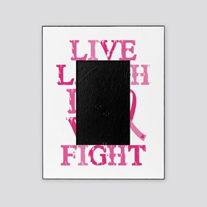 Live Love Fight Picture Frame