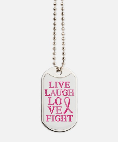 Live Love Fight Dog Tags