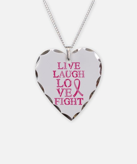 Live Love Fight Necklace
