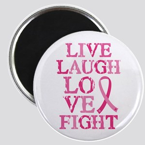 Live Love Fight Magnet