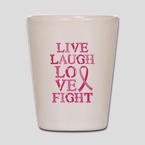 Live Love Fight Shot Glass