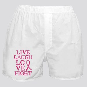 Live Love Fight Boxer Shorts