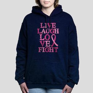 Live Love Fight Women's Hooded Sweatshirt
