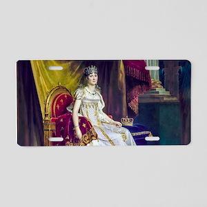 Gerard - Empress Josephine Aluminum License Plate