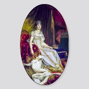 Gerard - Empress Josephine Sticker (Oval)