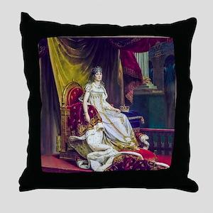 Gerard - Empress Josephine Throw Pillow