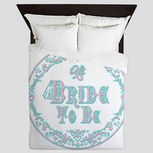 Bride To Be With Veil, Fancy Pink - Teal Vintage Q
