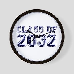 Class of 2032 Wall Clock