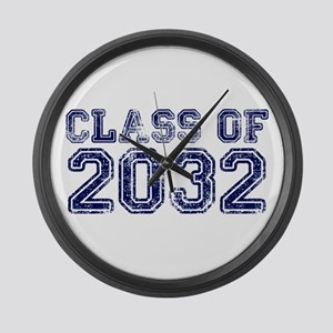 Class of 2032 Large Wall Clock