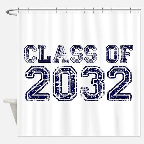 Class of 2032 Shower Curtain