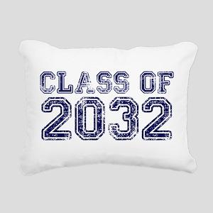 Class of 2032 Rectangular Canvas Pillow