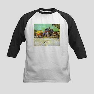 Van Gogh Kids Baseball Jersey