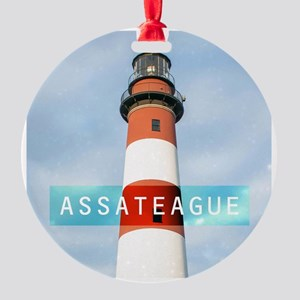 Assateague. Round Ornament