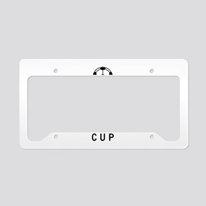 Keep Calm and Win the Cup License Plate Holder