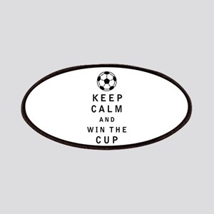 Keep Calm and Win the Cup Patches