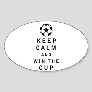 Keep Calm and Win the Cup Sticker