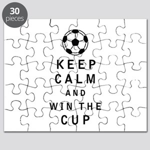Keep Calm and Win the Cup Puzzle