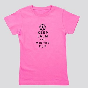 Keep Calm and Win the Cup Girl's Tee
