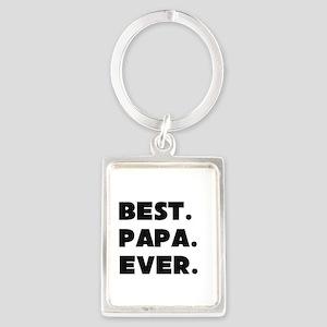 Best Papa Ever Keychains