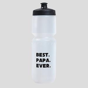 Best Papa Ever Sports Bottle
