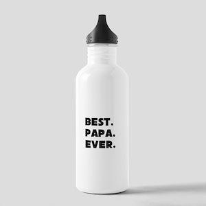 Best Papa Ever Water Bottle