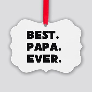Best Papa Ever Ornament